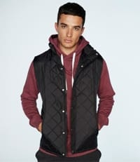 Mens Diamond Quilted Gilet