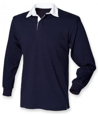 Mens Rugby Shirt – Front Row - Long Sleeved