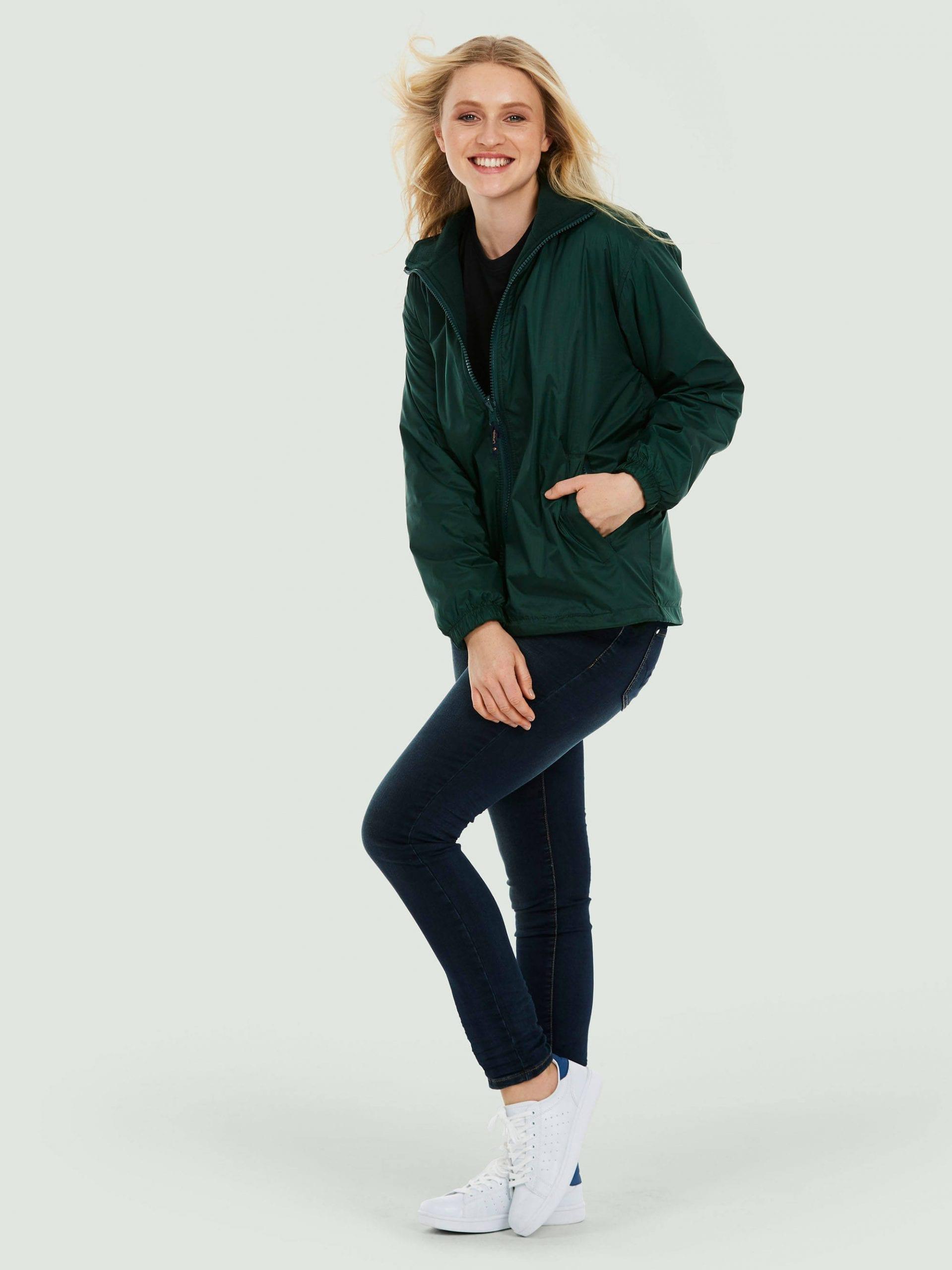 Adults Premium Reversible Fleece Jacket