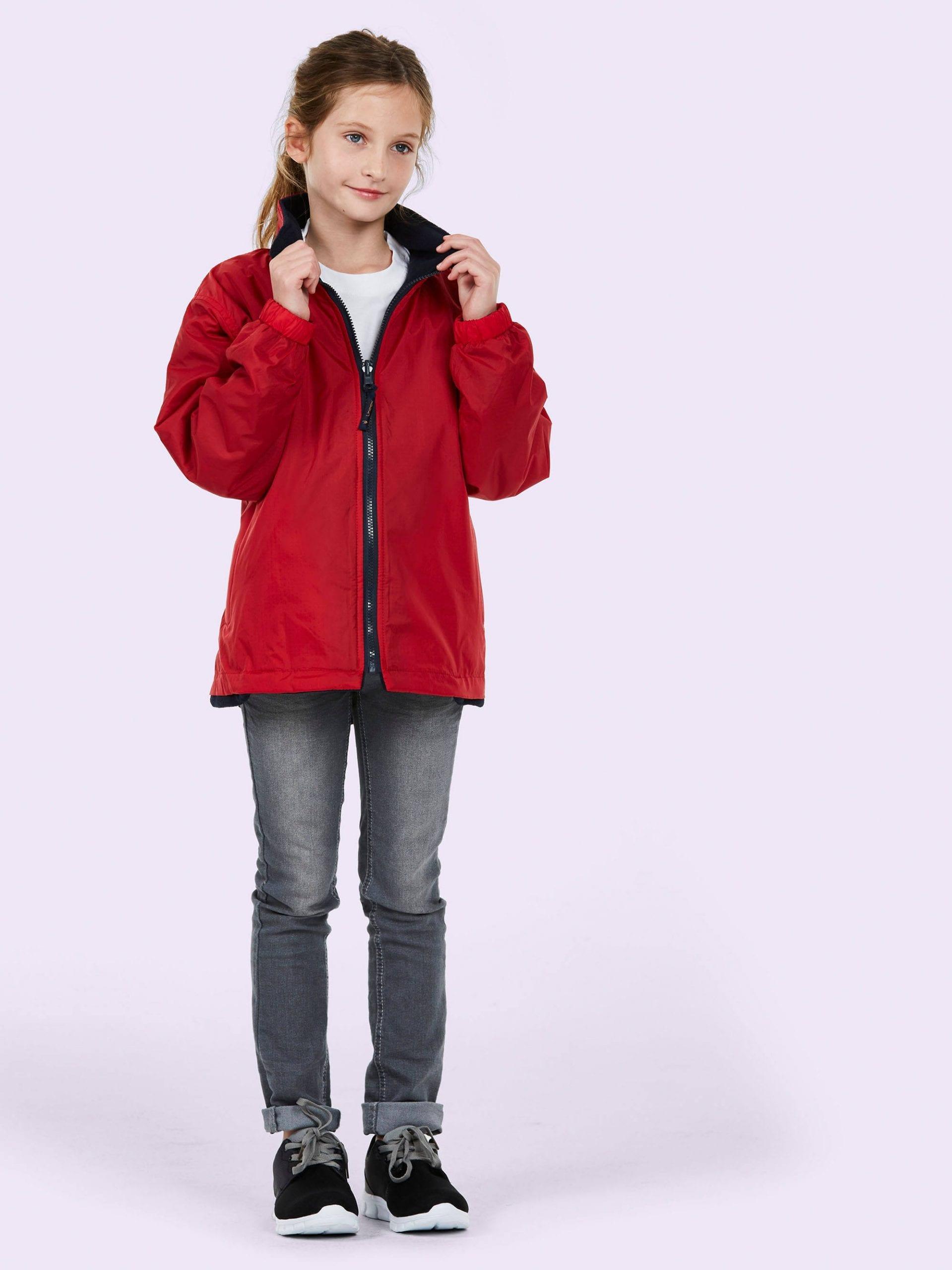 Childrens Premium Reversible Fleece Jacket